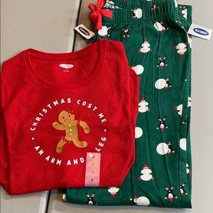 Christmas pajamas -ladies S